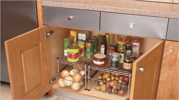 Kitchen cabinet storage ideas home furniture design for Bathroom cabinet organizer ideas