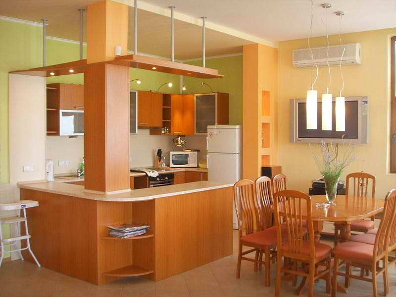 Kitchen Color Ideas With Oak Cabinets Home Furniture Design