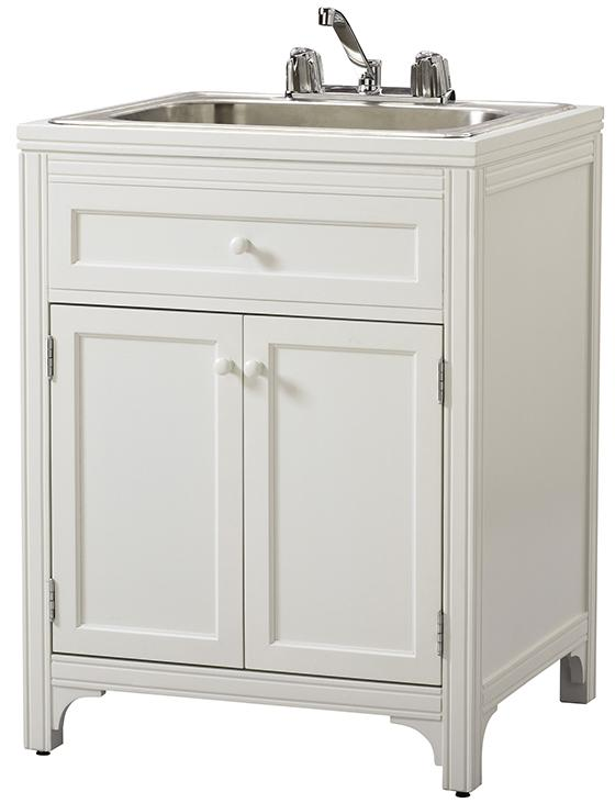 Laundry Utility Sink With Cabinet Home Furniture Design