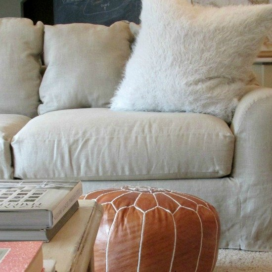 6 Easy Steps On Cleaning Your White Sofa: Home Furniture Design