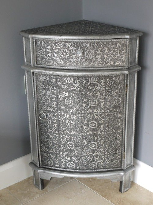 Metal Corner Cabinet Home Furniture Design