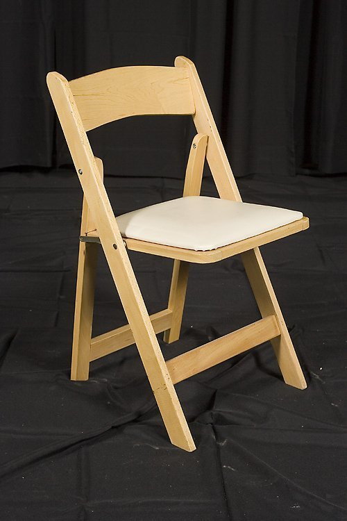 Natural Wood Folding Chair Home Furniture Design