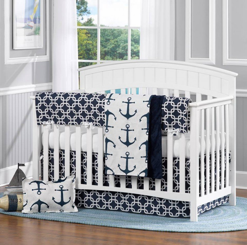 Nautical Crib Bedding Sets Home Furniture Design