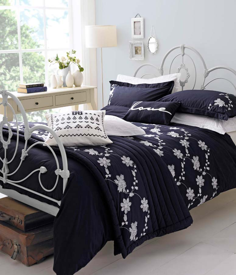 Navy Duvet Cover King Home Furniture Design