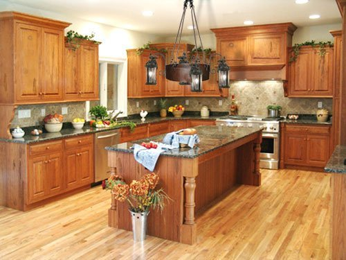Oak Kitchen Cabinets Ideas Home Furniture Design