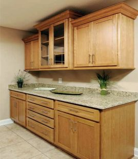 Oxford tall secretary desk home furniture design for Oak kitchen units for sale