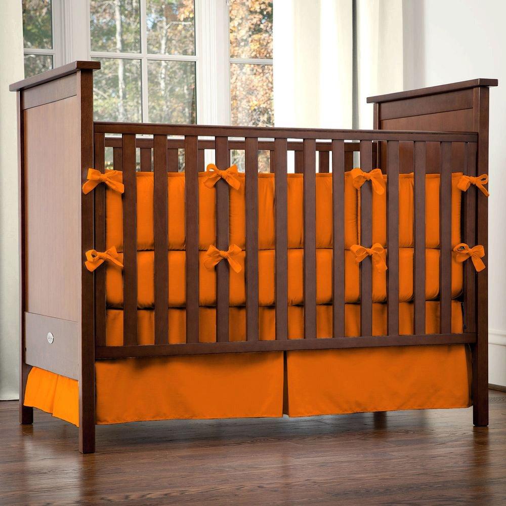 Orange Crib Bedding Sets