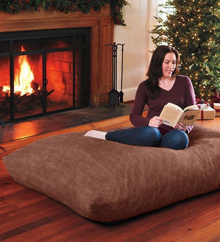 Oversized Floor Cushions Home Furniture Design