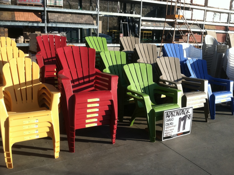 Plastic Adirondack Chairs Home Depot Furniture Design