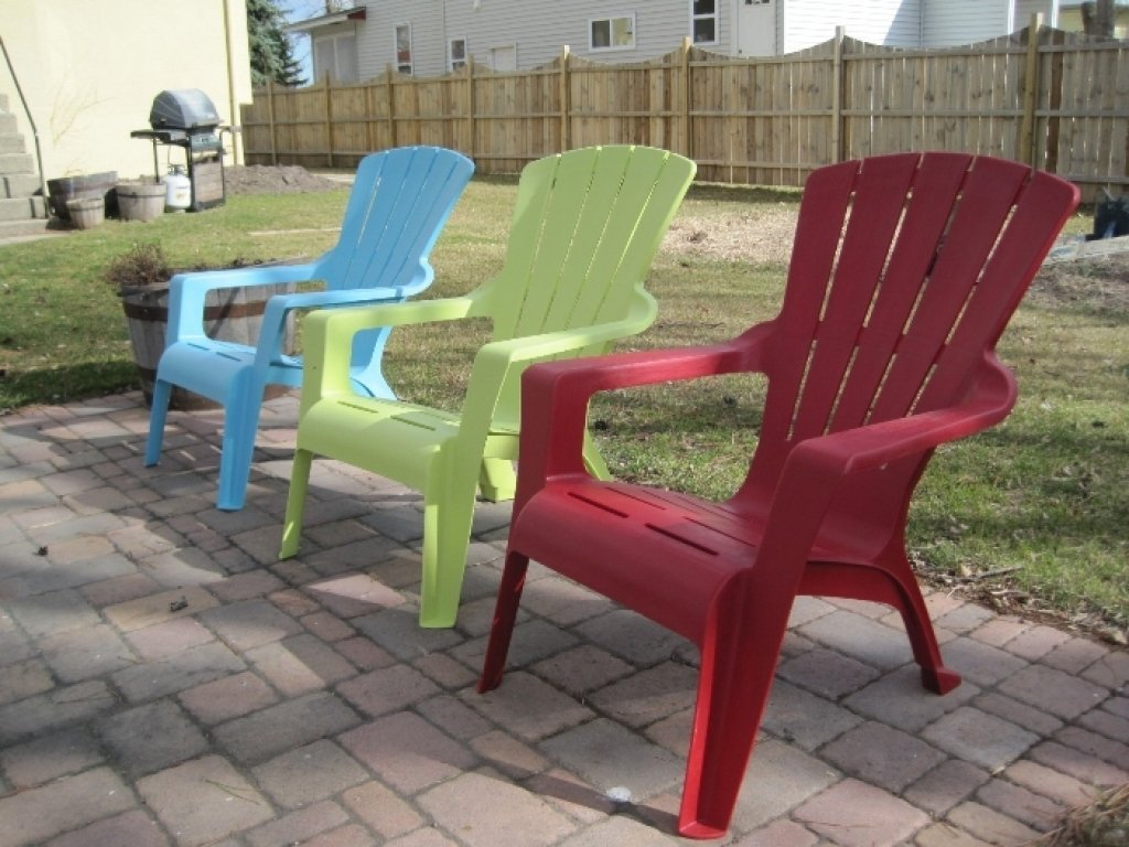 Plastic adirondack chairs perfect garden add ons home furniture design Plastic home furniture