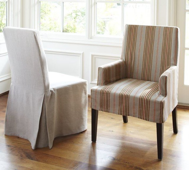 Pottery Barn Slipcover Chair1