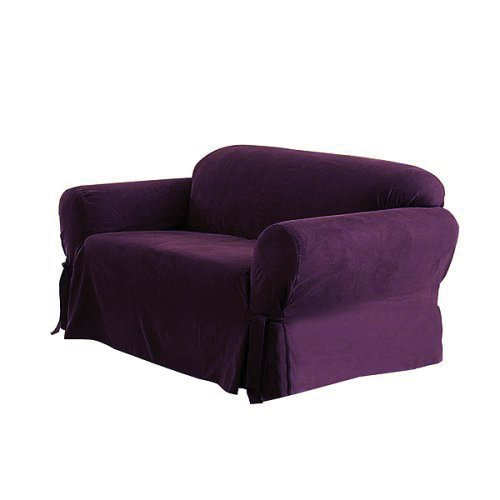 Purple Couch Cover Home Furniture Design