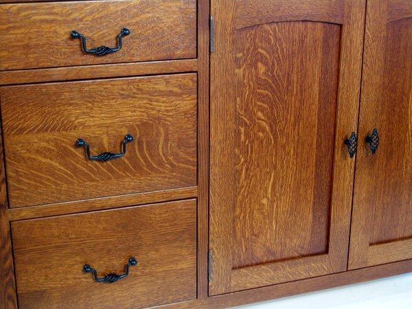 Quarter sawn white oak kitchen cabinets home furniture for White oak cabinets kitchen