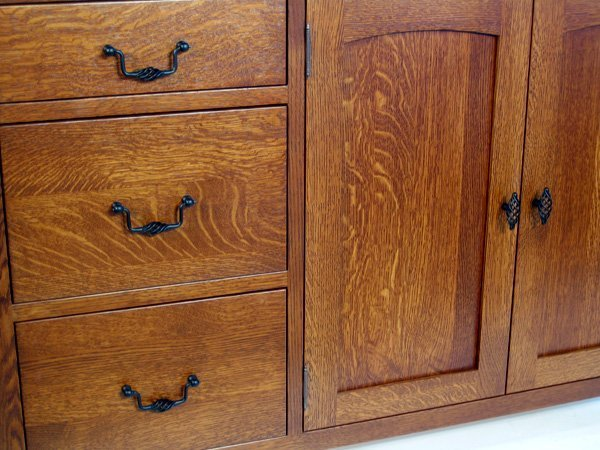 Quarter Sawn White Oak Kitchen Cabinets Home Furniture Design