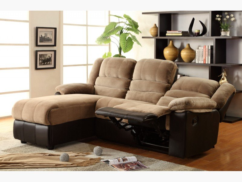 Reclining Sectional Sofa With Chaise Home Furniture Design
