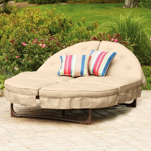 Round Chaise Lounge Cushions Home Furniture Design