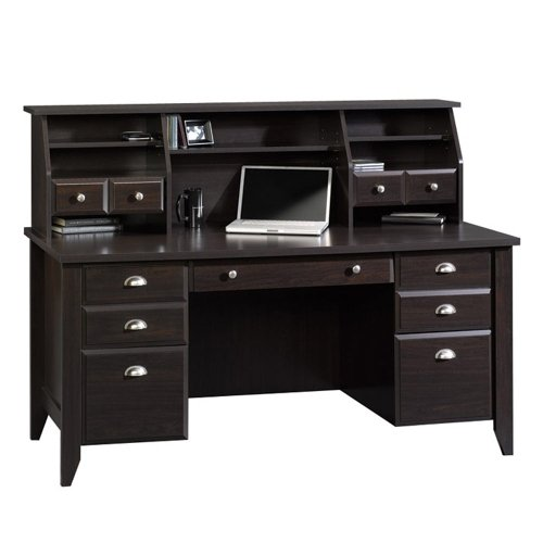 Sauder office port executive desk home furniture design - Sauder office desk ...