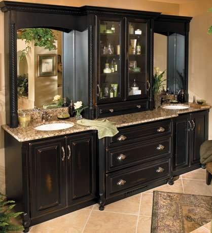Semi custom bathroom cabinets home furniture design for Semi custom cabinets