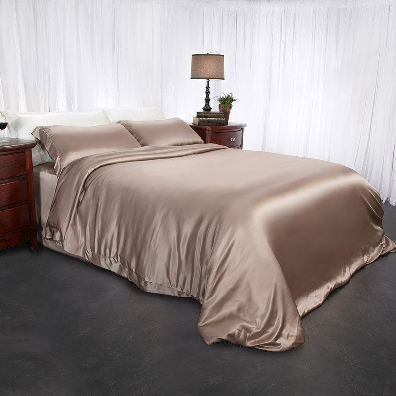 Silk Duvet Cover King Home Furniture Design