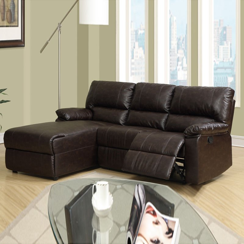Small Leather Sofa With Chaise Home Furniture Design