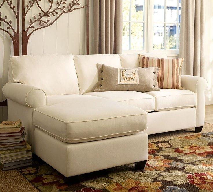 Small sectional sofa with chaise lounge home furniture for Chaise longe sofa