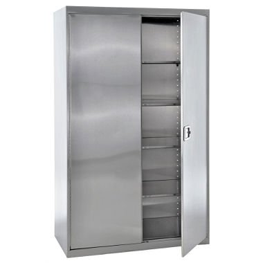stainless steel storage cabinets home furniture design. Black Bedroom Furniture Sets. Home Design Ideas