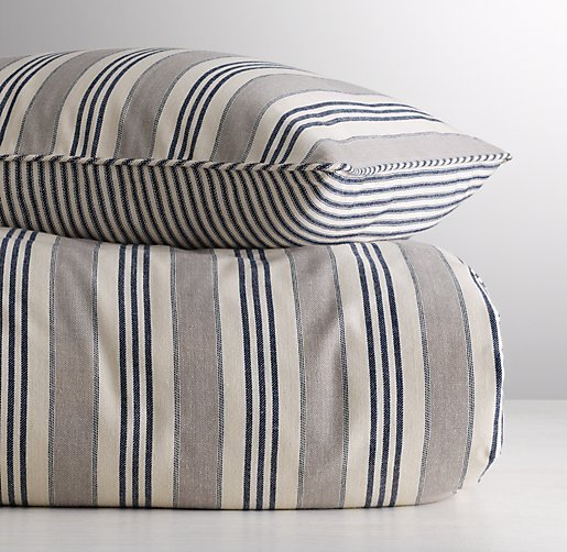 Ticking Stripe Duvet Cover Home Furniture Design
