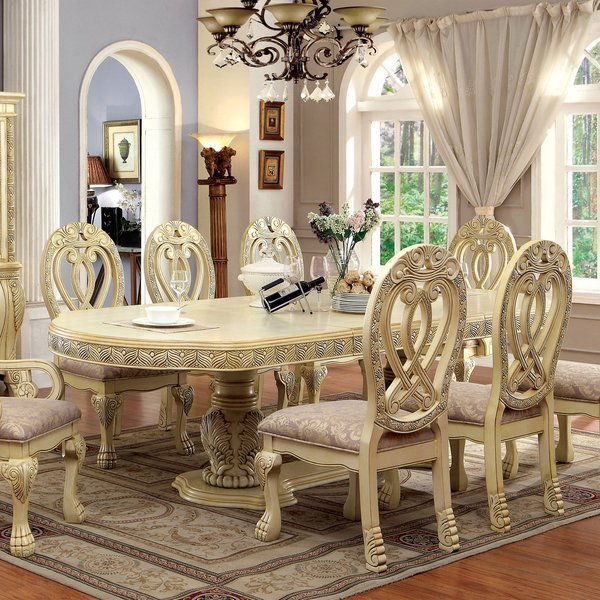 Traditional formal dining room sets home furniture design for Traditional formal dining room ideas