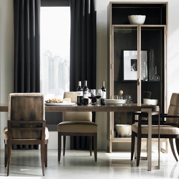 Transitional Dining Room Furniture: Transitional Dining Room Sets