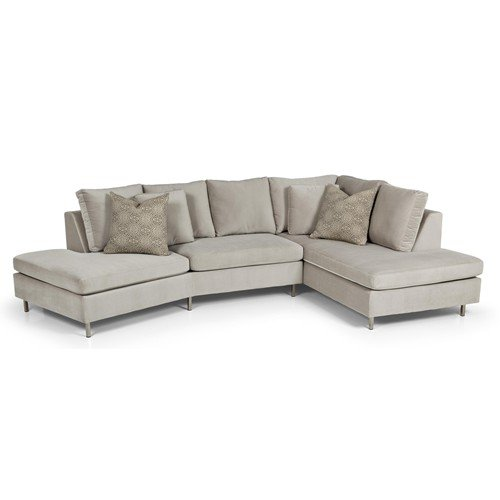 Two piece sectional sofa with chaise home furniture design for 2 piece sectional sofa with chaise