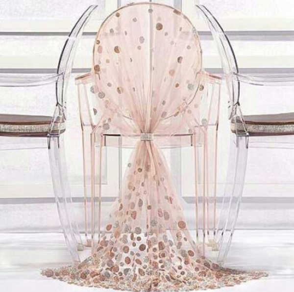 Wedding chair cover ideas home furniture design for Chair cover design