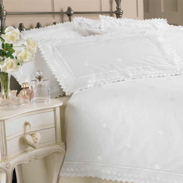 White Lace Duvet Cover Home Furniture Design