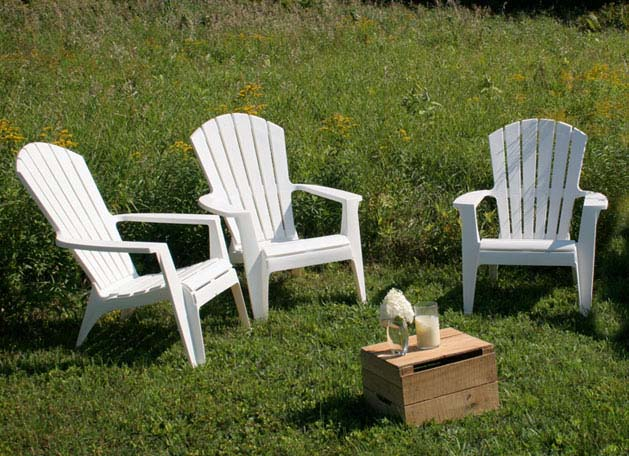 White Plastic Adirondack Chairs Home Furniture Design