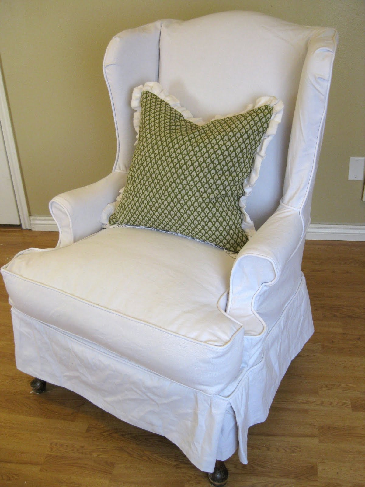 Wingback Chair Slipcover - an Ultimate Comfort of Relaxing ...