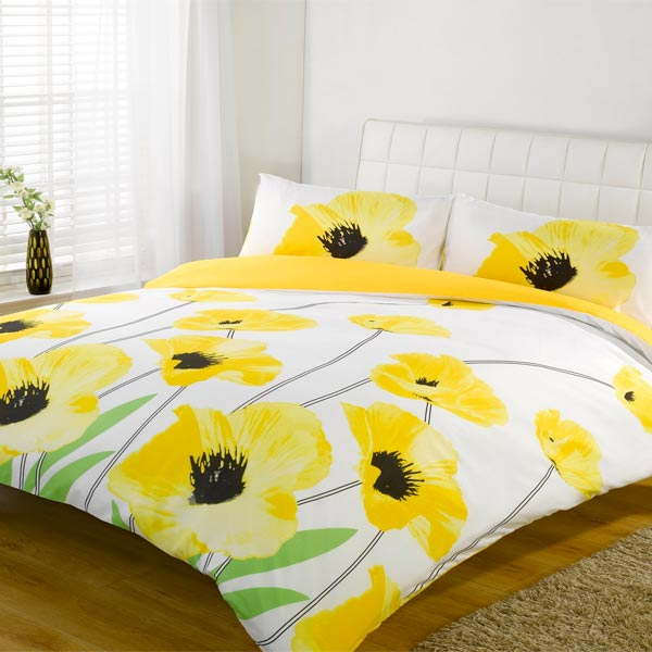 Yellow Duvet Cover King Home Furniture Design
