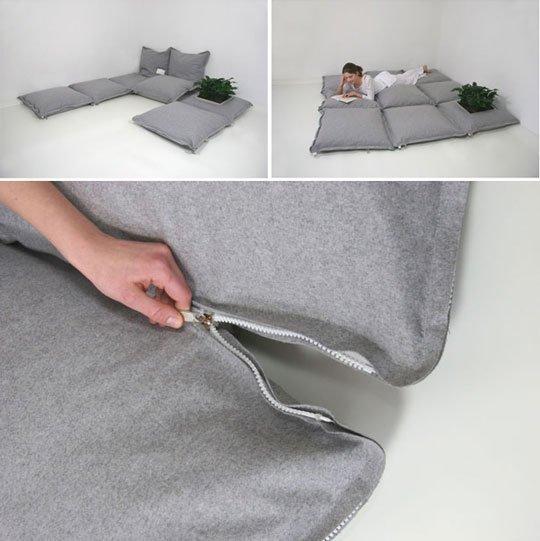 Zipzip floor cushions home furniture design - Cojines decorativos para sofas ...