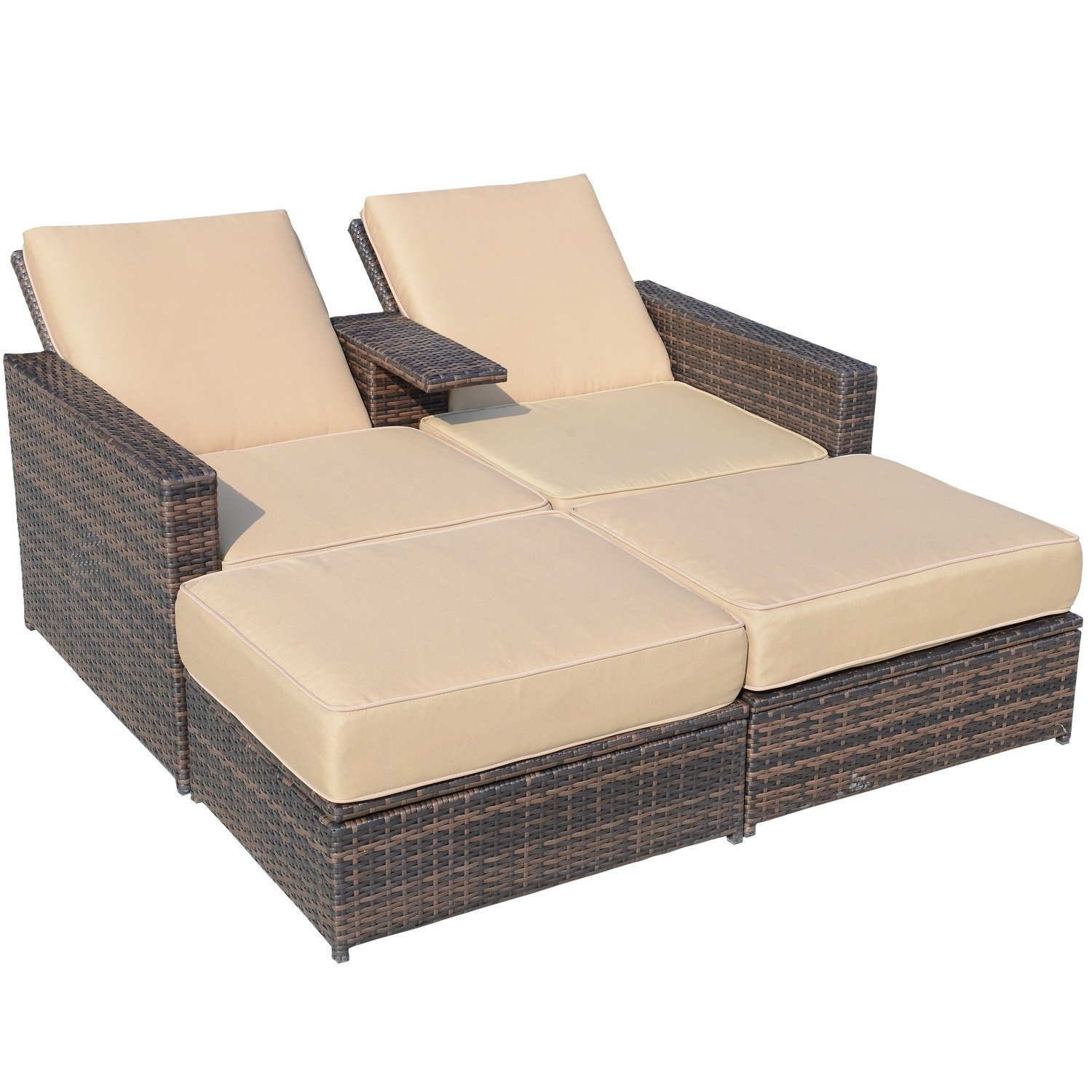 Double Chaise Sofa Home Furniture Design