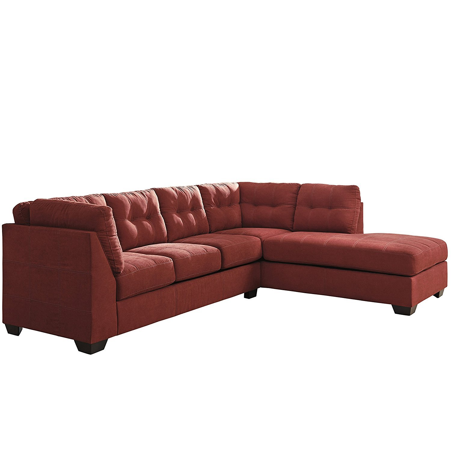 microfiber sectional sofa with chaise home furniture design