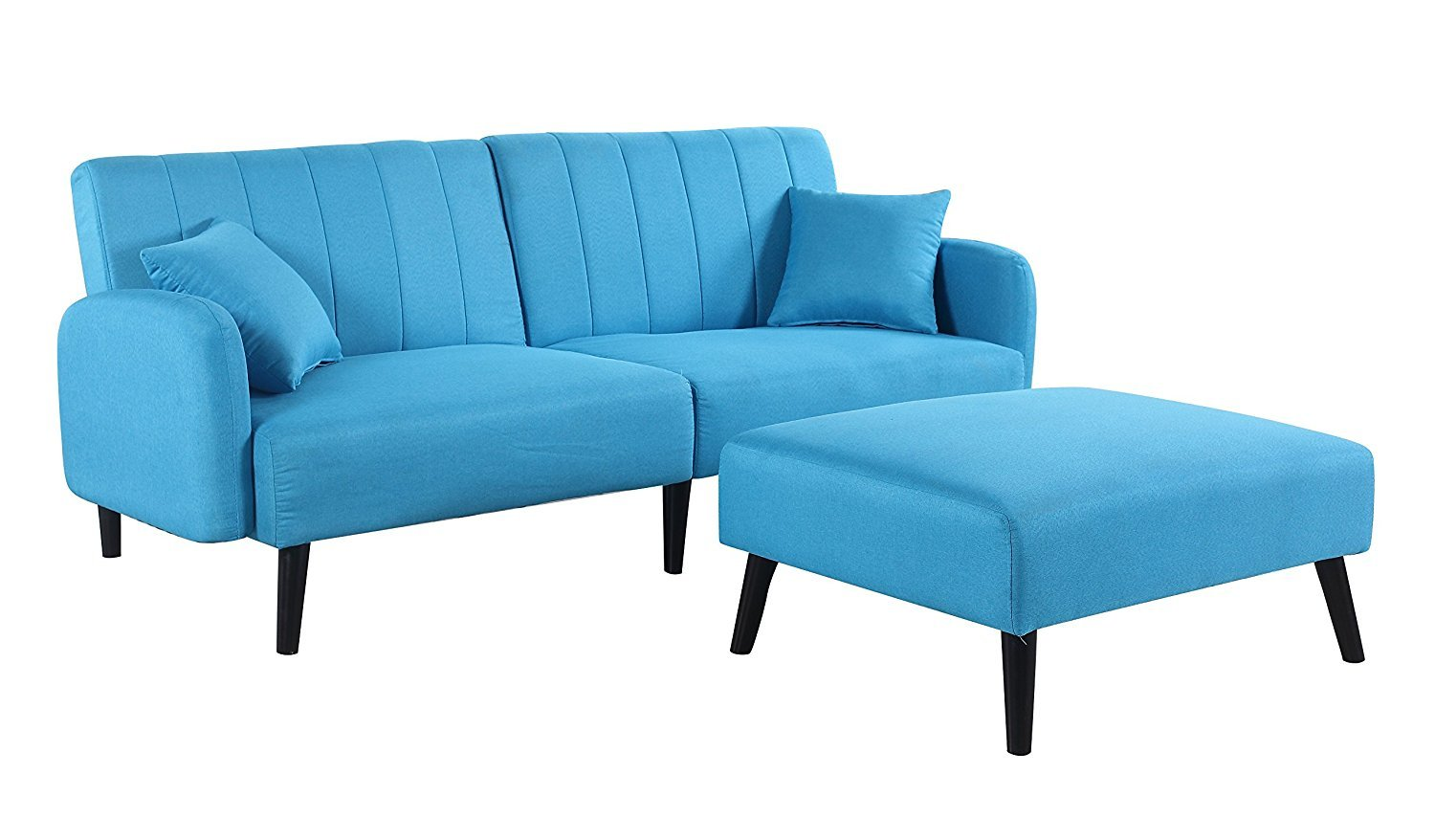 Small Sofa with Chaise - Home Furniture Design