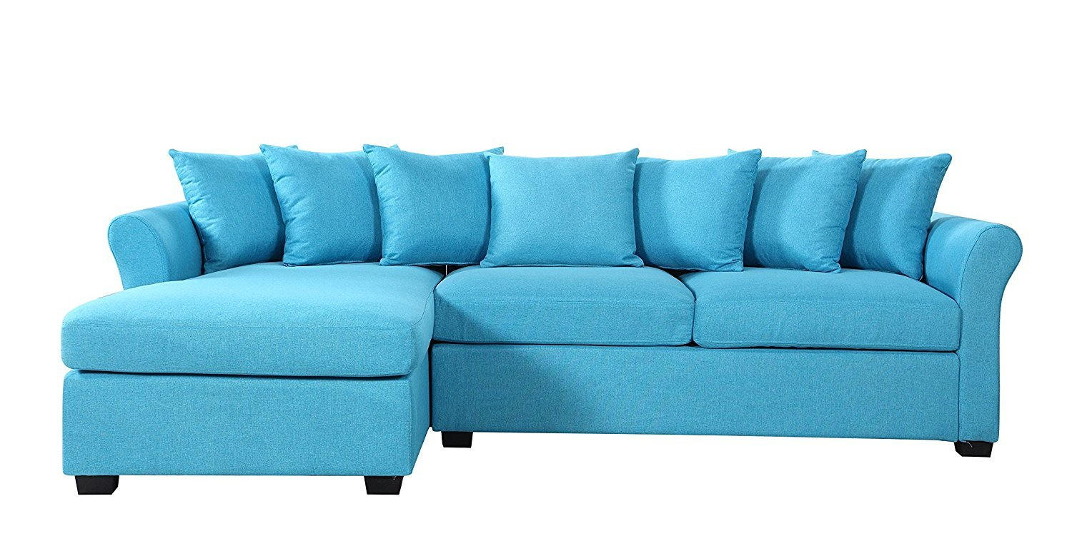 Sofa With Reversible Chaise Lounge Home Furniture Design