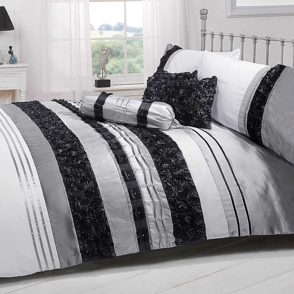 Black And White Bed Sets Home Furniture Design