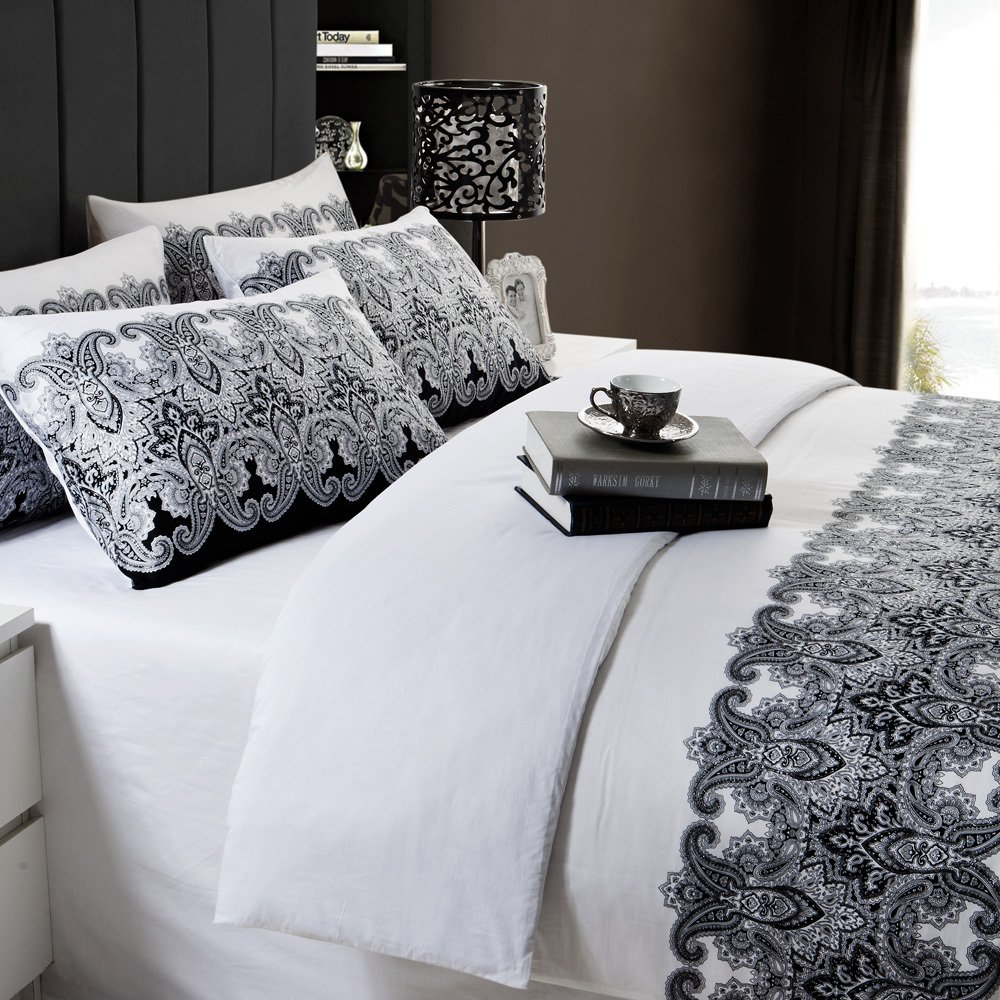 Black And White Bedding Sets Home Furniture Design