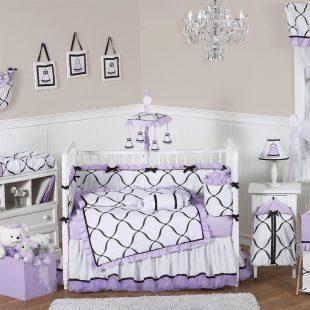 Black And White Nursery Bedding Sets