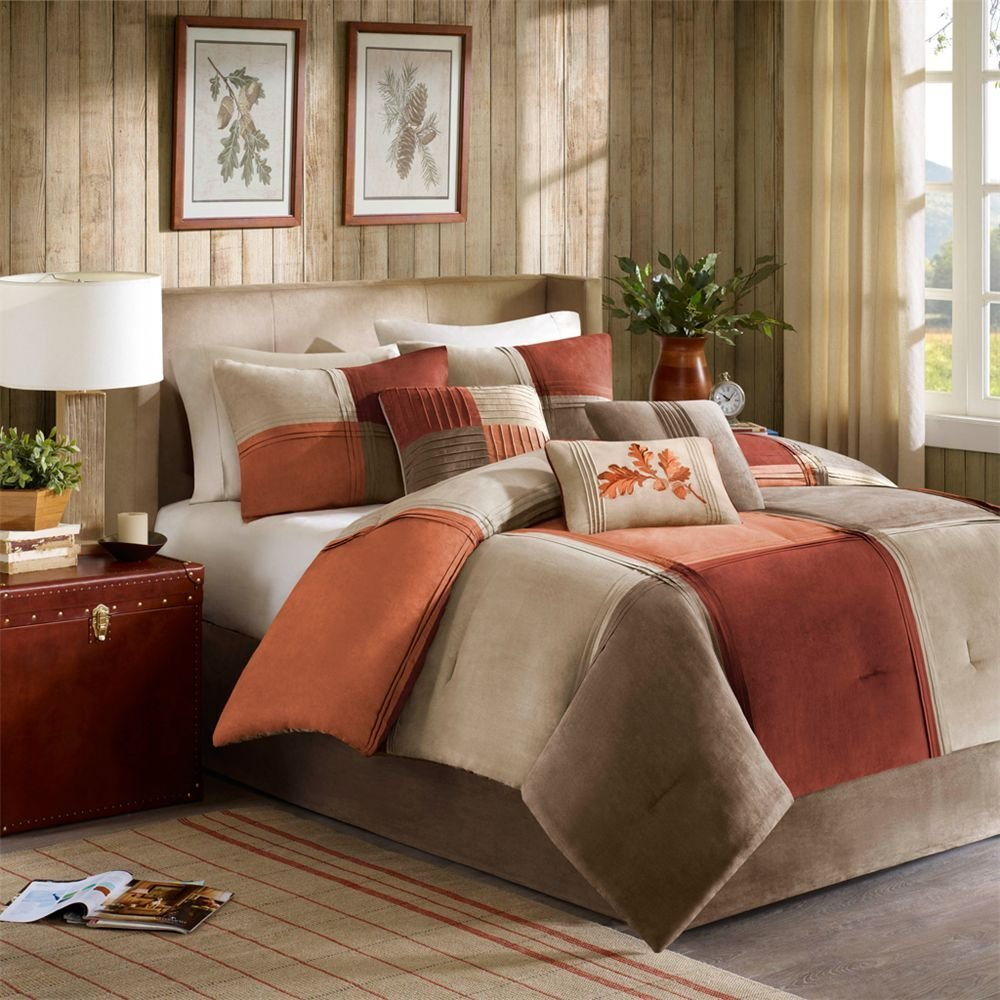 Brown Bedding Sets Queen Home Furniture Design