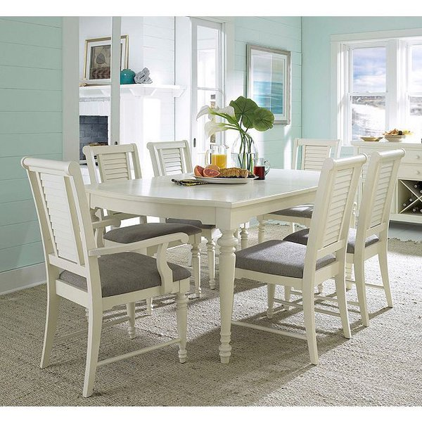 Broyhill dining room sets home furniture design for Small white dining room sets