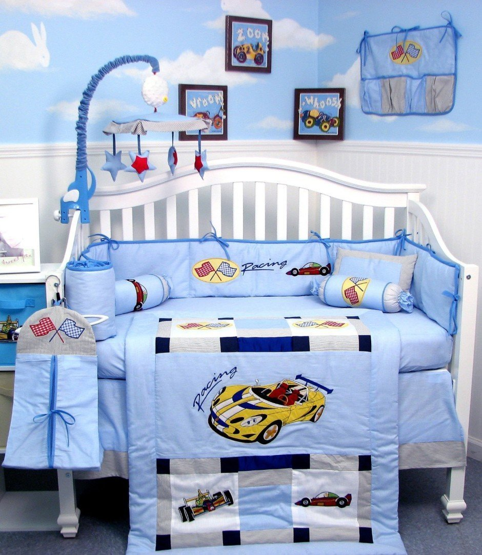 Cars Bedding Set For Cribs