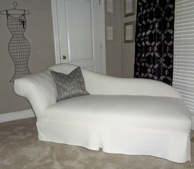 Chaise Lounge Slipcover - Home Furniture Design