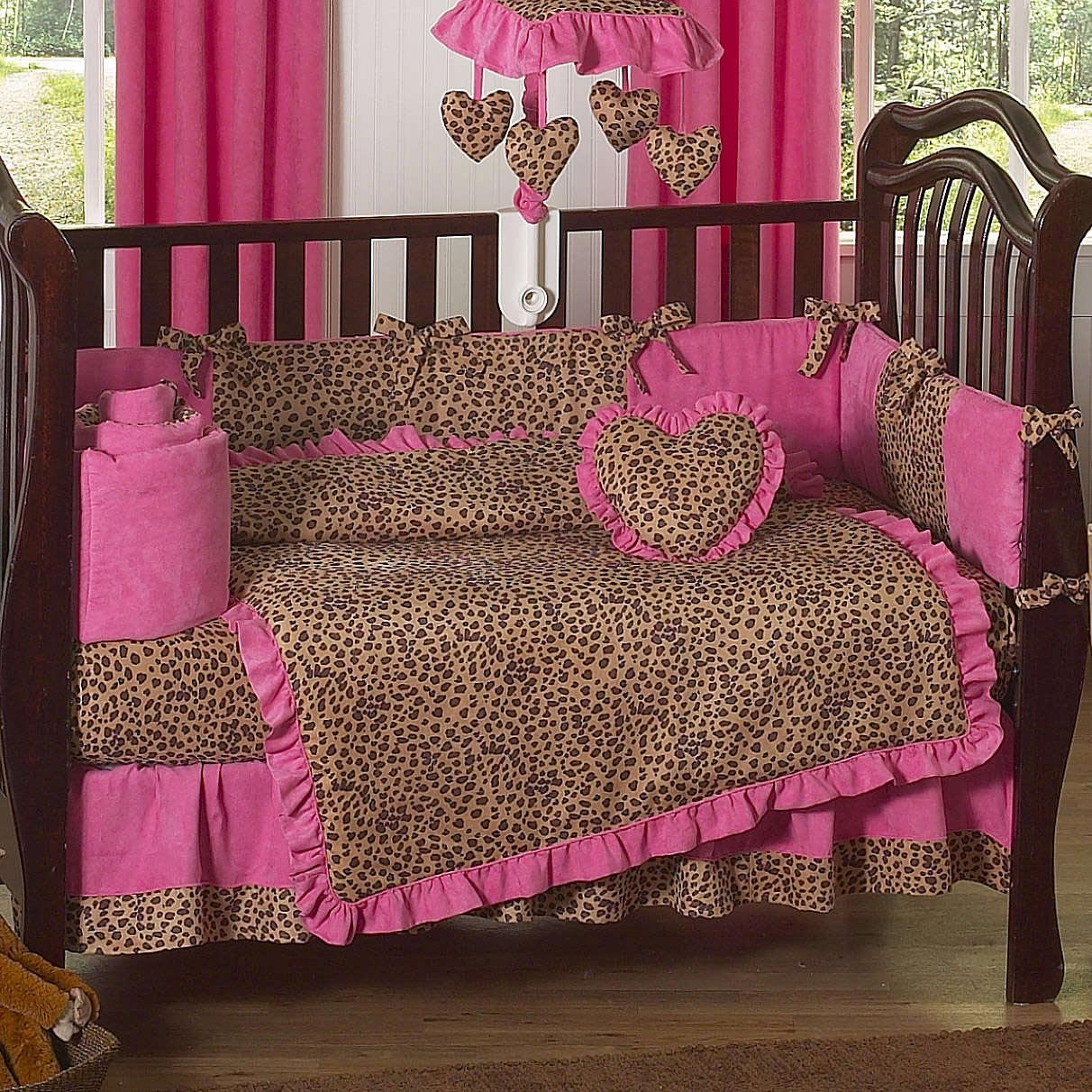 Cheetah Crib Bedding Set Home Furniture Design