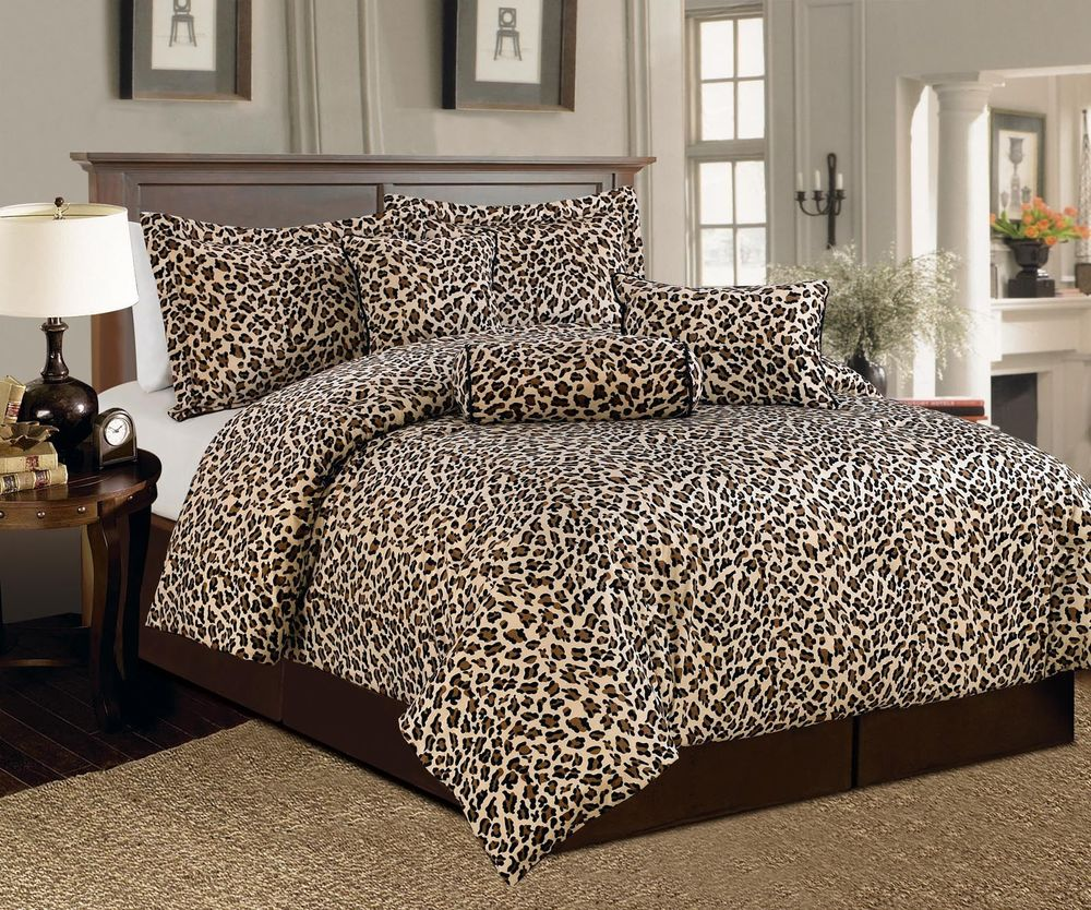 Cheetah print bedding sets home furniture design - Cheetah bedspreads ...