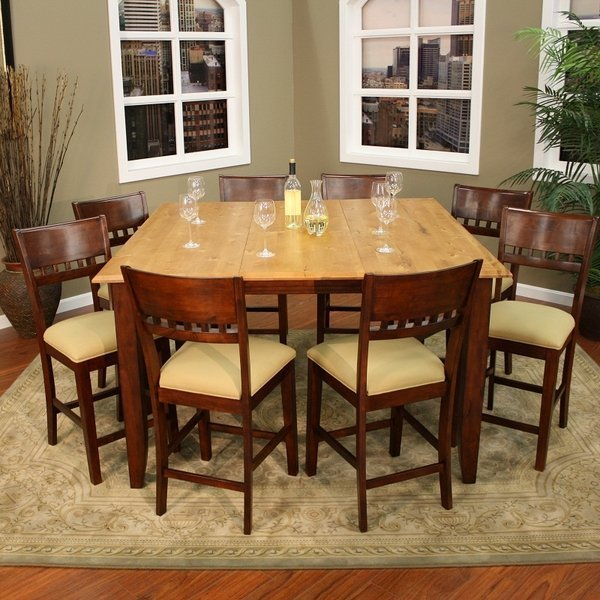 counter height dining room sets home furniture design